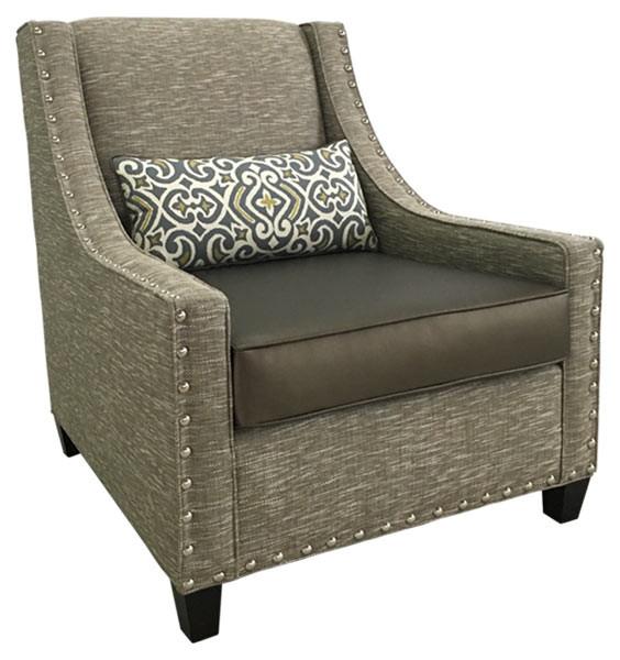 "1839-1 Lounge Chair 35""W 41""D 41""H"