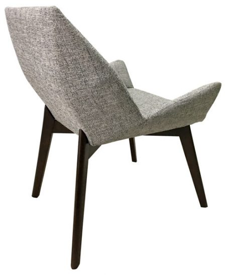 Gallery 3 Armchair Geometric Backview