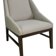 1823-1 Gallery 60 Lounge Chair Grey Slope Arm Lounge