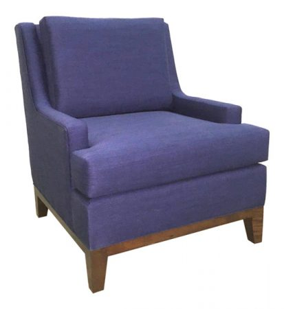 Gallery 63 Lounge Chair Blue Lounge