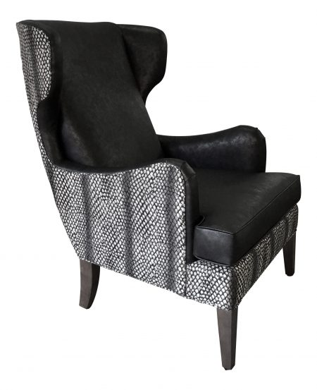 Gallery 67 Wing Chair Side View