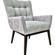 1747-1 Gallery 75 Arm Chair Wood Base Armchair