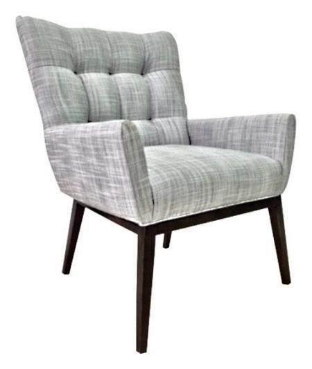 1747-1 Gallery 75 Arm Chair Wood Base Armchair