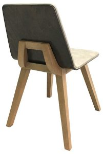Gallery 8 Armless Chair Back View